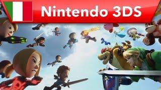 Super Smash Bros. for Nintendo 3DS spot La lotta dei Mii