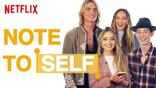 What's on My Phone ft. Ava Michelle, Griffin Gluck, Sabrina Carpenter & Luke Eisner | Netflix