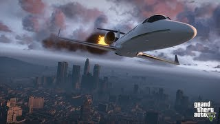 GTA 5 Game Play #08 avião tanque de guerra+agradecimentos