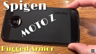 Moto Z Spigen Rugged Armor Case