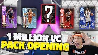 MASSIVE 1 MILLION VC PACK OPENING LIVE NBA 2K18!!