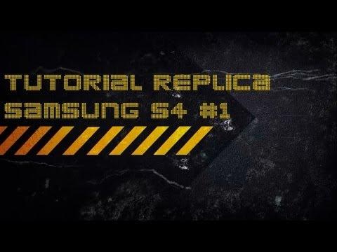 Solução logo samsung galaxy S4 replica - tutorial #1