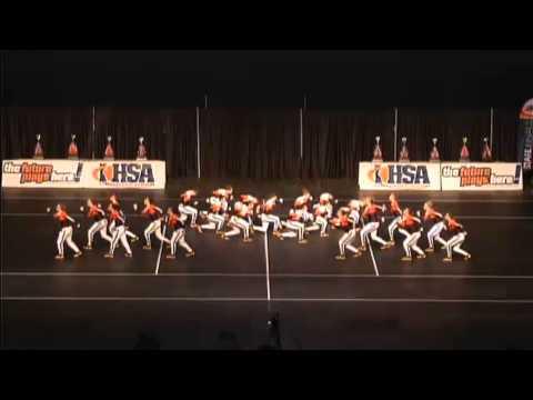 Lincoln Way West Varsity Dance Team 2015