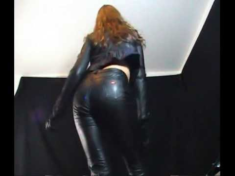 Sexy Girls Dancing In Miss Sixty Leather Pants video
