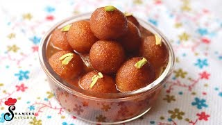 റവ കൊണ്ട് സൂപ്പര് ടേസ്റ്റില് ഒരു ഗുലാബ് ജാമുന്...!|| Tasty Gulab Jamun Recipe || Shamees Kitchen