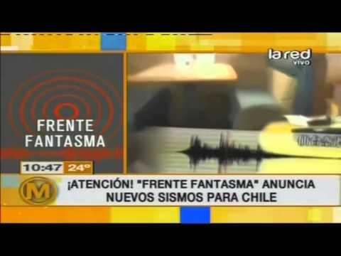 Atención: Frente Fantasma anuncia nuevos sismos para Chile