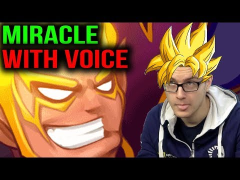 MIRACLE- [WITH VOICE] TIME TO PICK INVOKER Dota 2