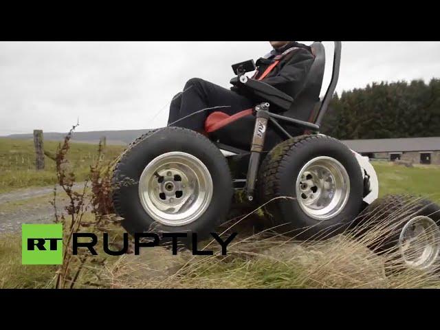 Un británico diseña una 'silla de ruedas todoterreno'