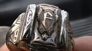 50 Year Old Class Ring Found!! My First Gold Ring!!