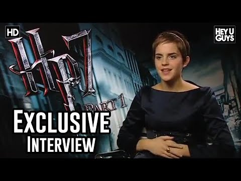 Harry Potter an the Deathly Hallows - Part 1 Interview - Emma Watson
