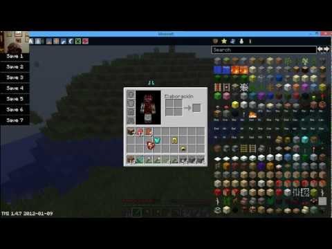 Como cambiar tu Skin minecraft 1.4.7 para (windows 8 HD)