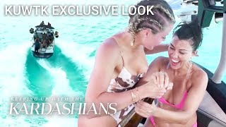 Khloé & Kourtney Turn Up On Turks And Caicos Girls' Trip | KUWTK Exclusive Look | E!