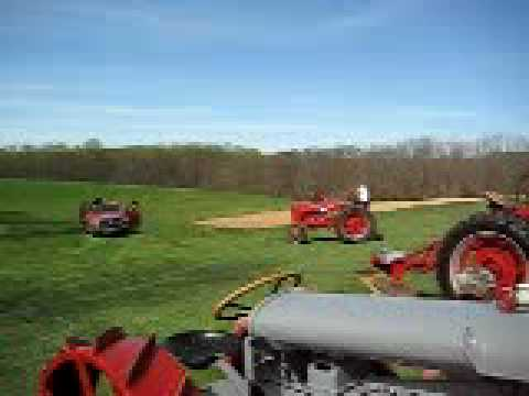 Vintage Tractor Heads Back to Work on the Farm - Montgomery County Gas & Steam Engine Show