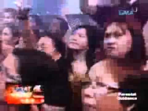 Dingdong singing,marian dance with him.flv