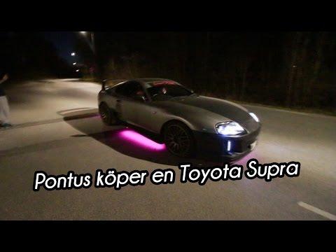 Pontus köper en Toyota Supra + Giveaway! | VLOGG #186