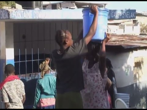 Dlo Dlo Dlo, Eau potable à Port-au-Prince