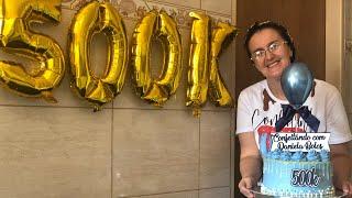 BOLO MOUSSE TRUFADO DE CEREJA | ESPECIAL 500K