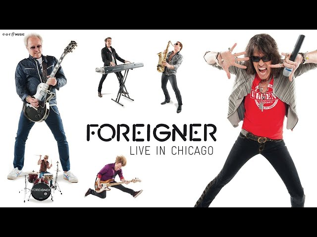 "FOREIGNER ""Urgent"" Live HD (official) LIVE IN CHICAGO"