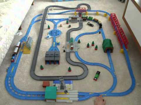 thomas the train plastic track instructions