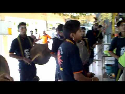 Taiping Spider Crew (smp) Tappu Mellam At Beruas Kuil (hd) video