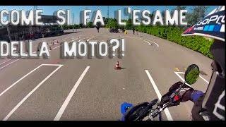 ESAME PRATICO PATENTE A1   Yamaha WR 125X   COME SI FA L'ESAME DELLA MOTO?!