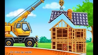 #2 Truck games for kids - build a house 🏡 car wash |Baby games| puzzel | Truck  games for KIDS