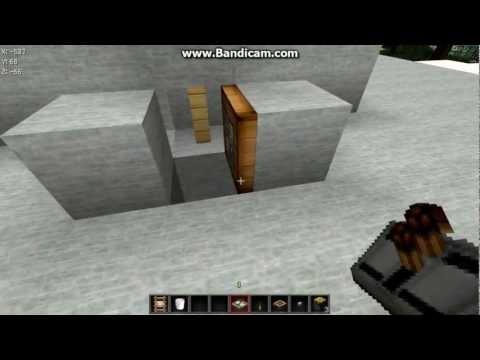 Майнкрафт как сделать механический туалет