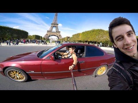 Париж, Лягушатники, Эйфелева башня - VLOG (Дима Гордей)