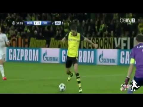 BVB Borussia Dortmund VS Real Madrid 2:0 - UEFA Champions League 2014 - Marco Reus Goals