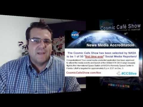 Nov 12 2015 : : Cosmic Café Show's Live Stream of today's Paranormal Headlines + Extras!