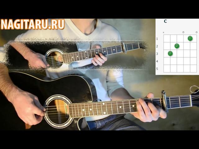 М. Боярский - Спасибо за день, спасибо за ночь. Простые аккорды в Em на гитаре!