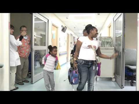 Artificial heart patient finally goes home!