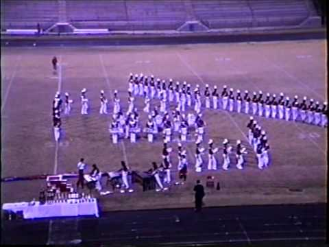 Robert E Lee High School Band Oct 28, 1989