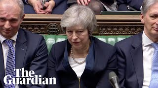The moment Theresa May loses crucial Brexit deal vote
