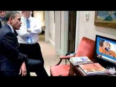 Obama listens to Modi