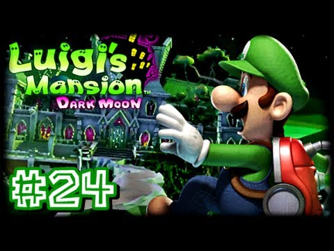 Luigi's Mansion Dark Moon - (1080p) Part 24 - E-1 Front Door Key