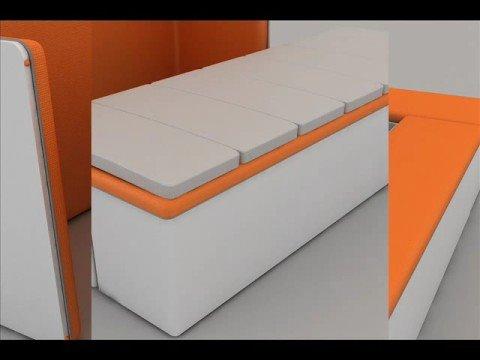 Mobiliario para espacios reducidos youtube - Sofas para espacios pequenos ...