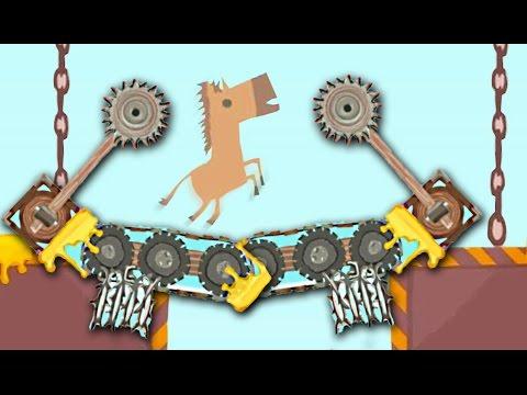 ЭТО ВООБЩЕ ВОЗМОЖНО ПРОЙТИ? АДСКАЯ МЯСОРУБКА! ( Ultimate Chiken Horse )