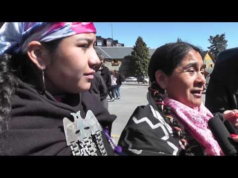 Violento allanamiento en comunidad Mapuche Colhuan Nahuel