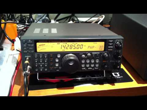 Kenwood TS-570D HARAOA CLUB