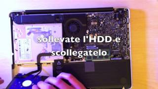 Cambiare Hard Disk Macbook Pro  - Seagate Momentus XT 500Gb