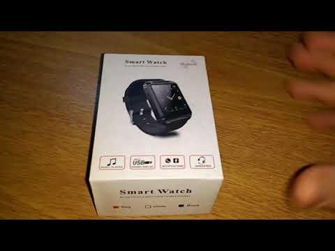 Relógio inteligente Smart watch u8 Bluetooth