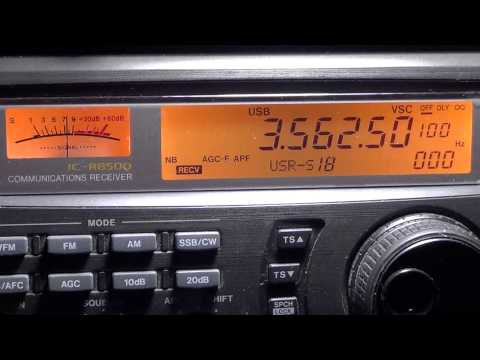 ARRL RTTY Roundup VA2UP on 80 meters