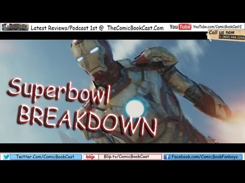 Iron-Man 3 Superbowl Trailer BREAKDOWN
