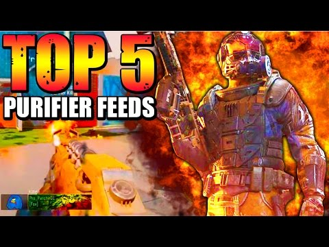 Black Ops 3 - Top 5 PURIFIER FLAMETHROWER FEEDS - BO3 Community Top Five #6