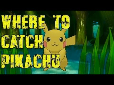 Pokémon X and Y - Where To Catch/Get Pikachu