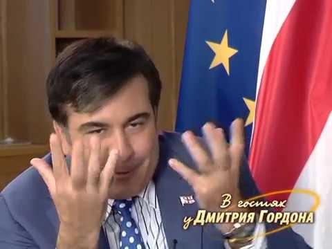 Саакашвили: Путин меня предупреждал, что мы будем с вами воевать