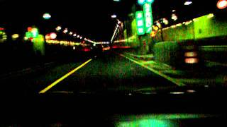 Prelude driving in TOKYO High-way/VAL-SOUND