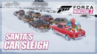 Forza Horizon 3 - Santa's Car Sleigh (Christmas Challenge)
