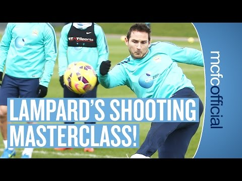 Frank Lampard training for Manchester City